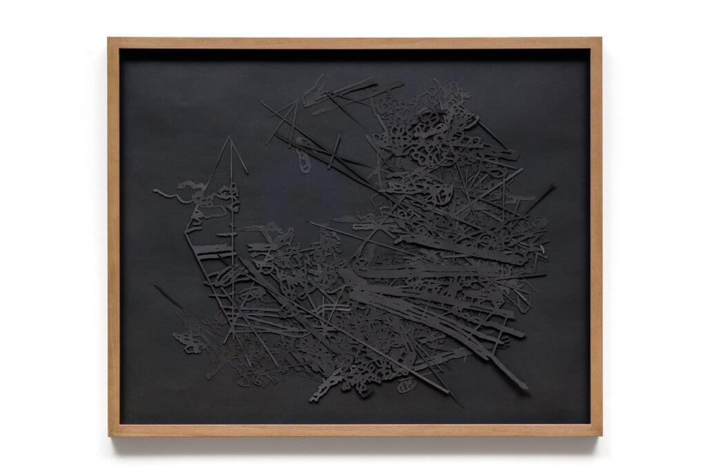 Dorthe Goeden Papierschnitt Collage Addaux Artist Gallery Paperwork 2016