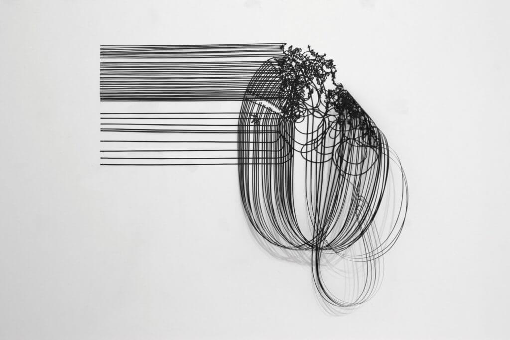 Dorthe Goeden Papierschnitt Addaux Artist Gallery Paperwork 2015