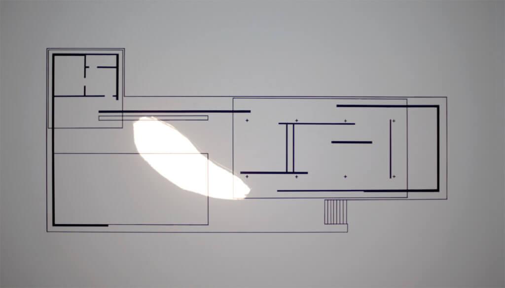 Ail Hwang Addaux Bielefeld Artist Abwesen Diaprojektion