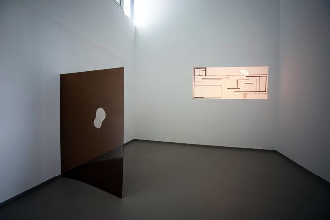 Ail Hwang Addaux Artist Installation Abwesen Mies van der Rohe 2012