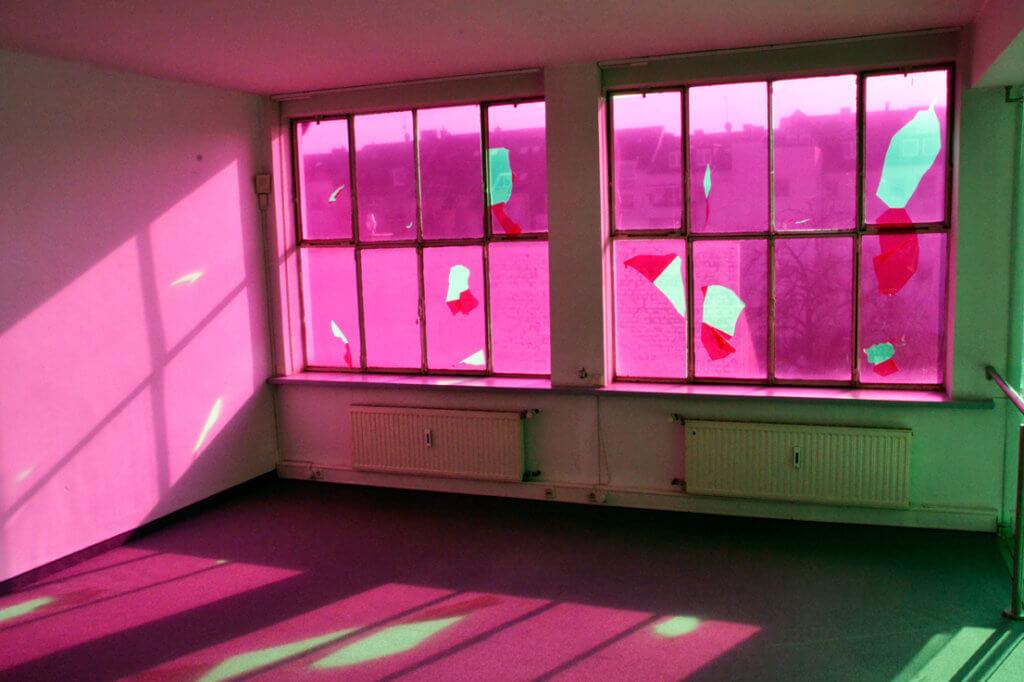 Ail Hwang Artist Addaux Bielefeld Duesseldorf Reconstruction Installation 2015