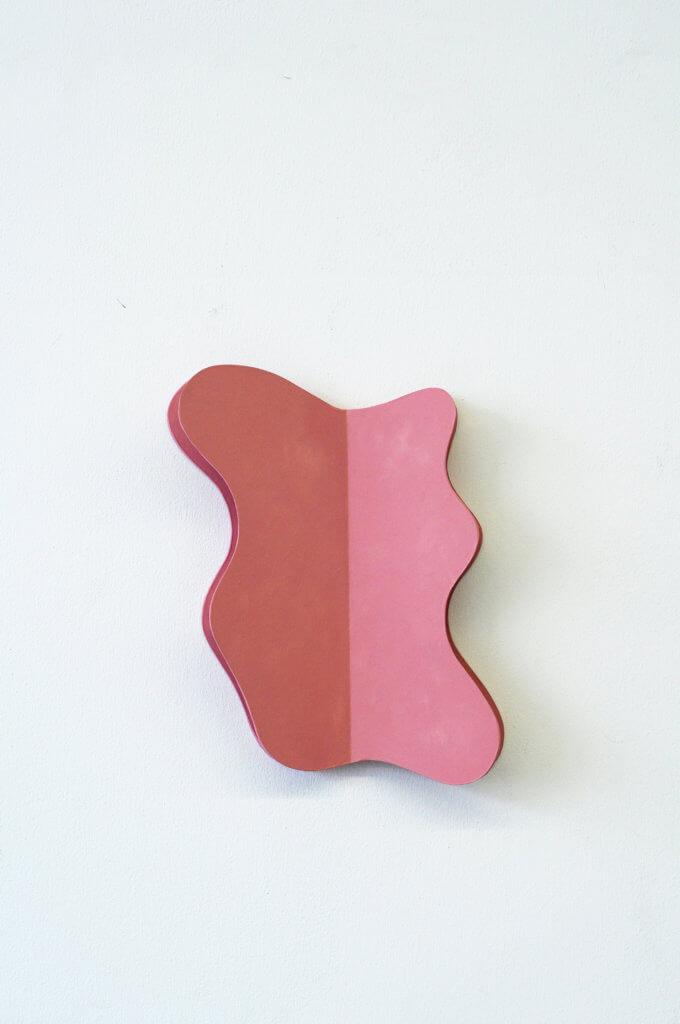 Jobst Tilmann Wandobjekt, Karton, Arylfarbe, Lack, konkrete Kunst, 2014 Rheda-Wiedenbrück