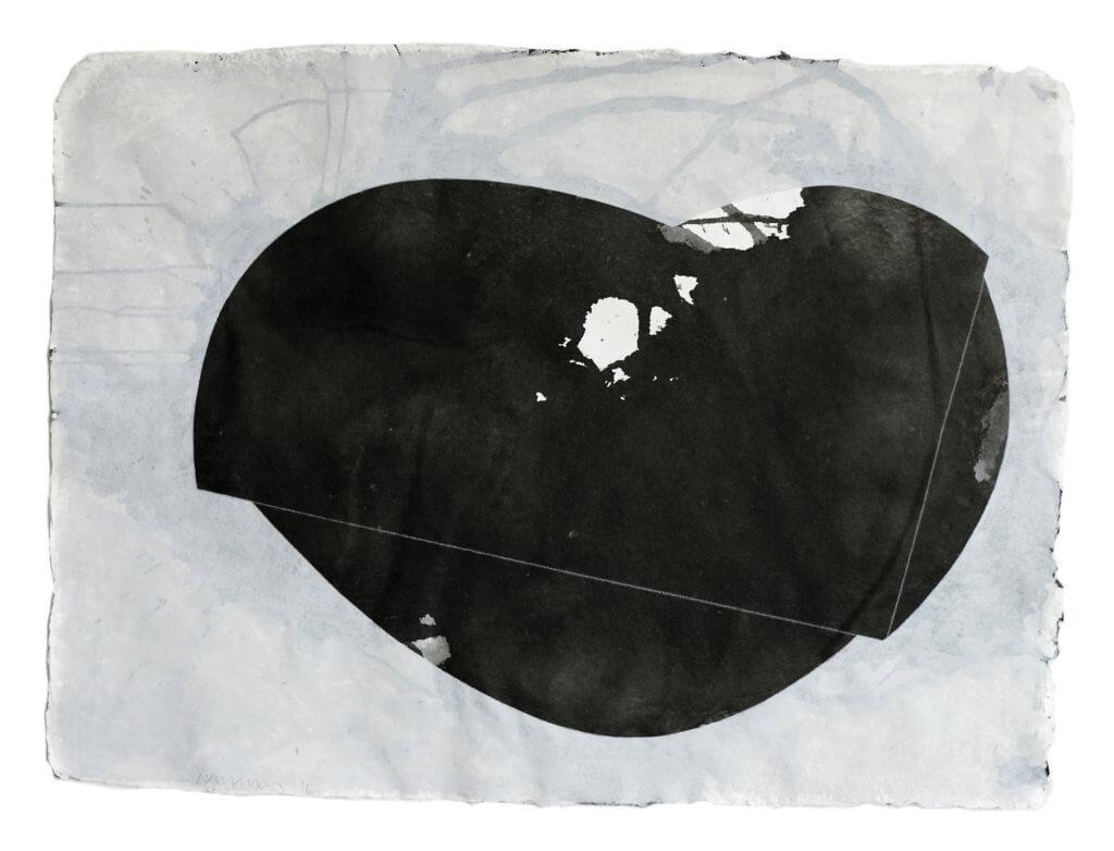 Jobst Tilmann, Fragment total, Tusche, Gouache, Bütten, Papierarbeit, konkrete Kunst, Addaux, Bielefeld, Galerie, Kunst, Künstler, 2016, Rheda-Wiedenbrück