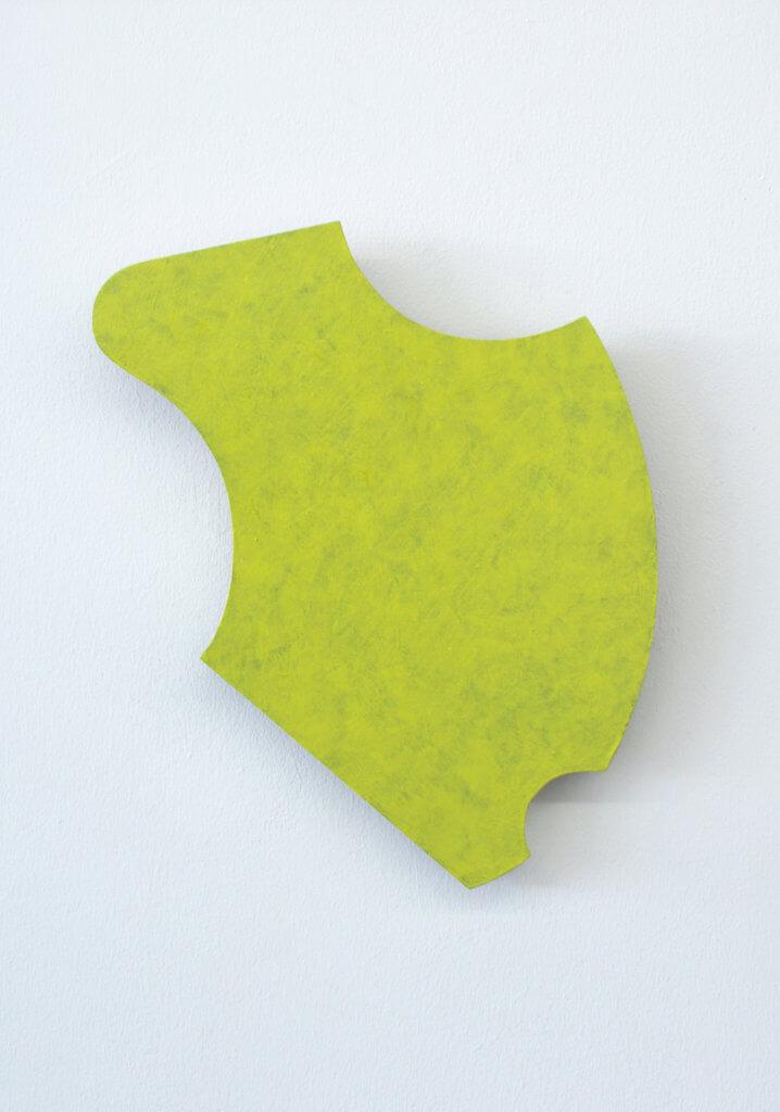 Jobst Tilmann Formobjekt, Holz, Arylfarbe, konkrete Kunst, 2014 Rheda-Wiedenbrück