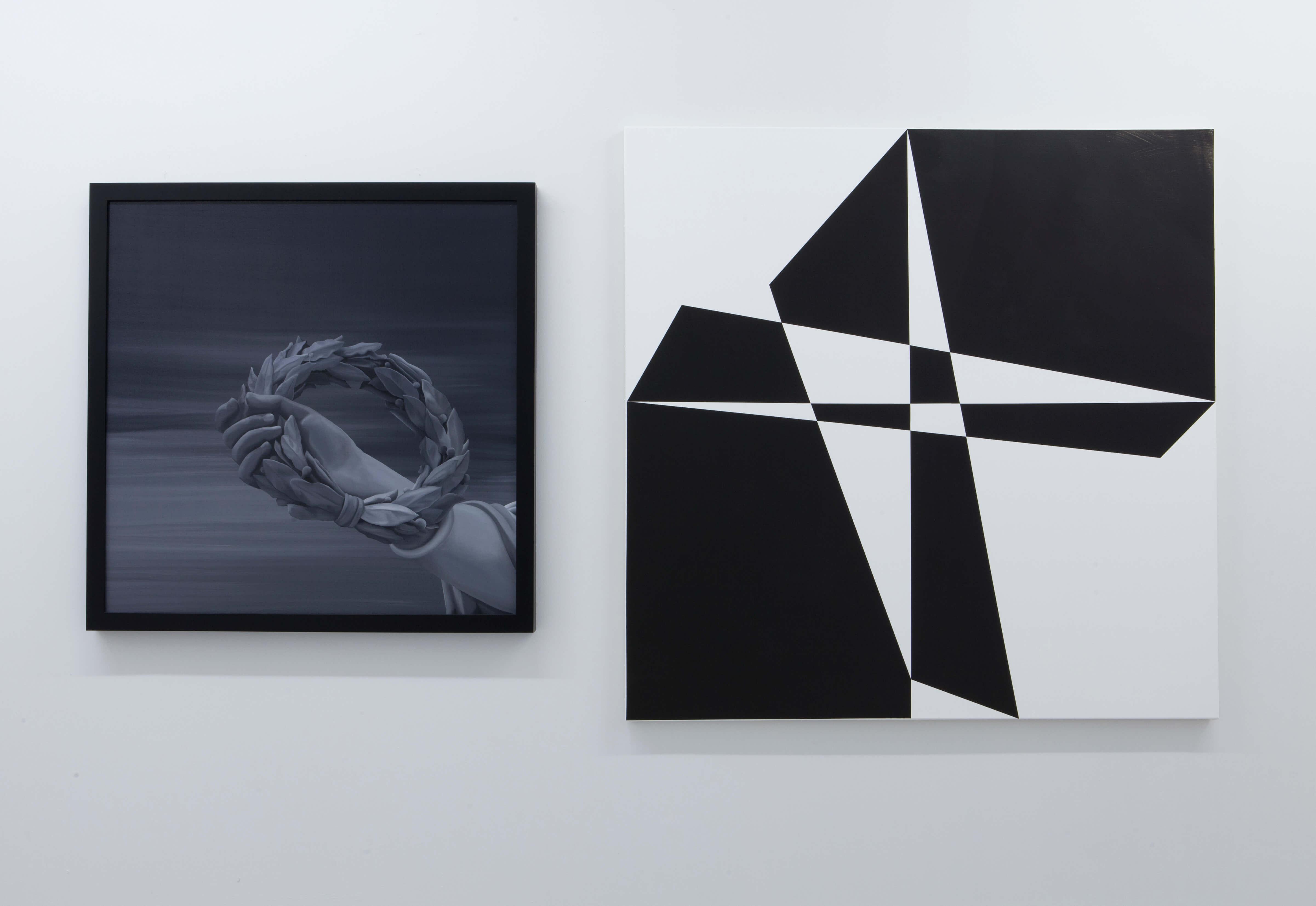Lars Breuer Eskorte 2014 Addaux Artist Düsseldorf Grafik Schrift Galerie