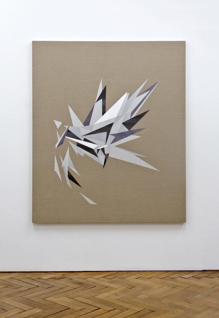 Lars Breuer Esplosione 2012 Addaux Artist Bielefeld Berlin Düsseldorf Grafik Schrift Galerie