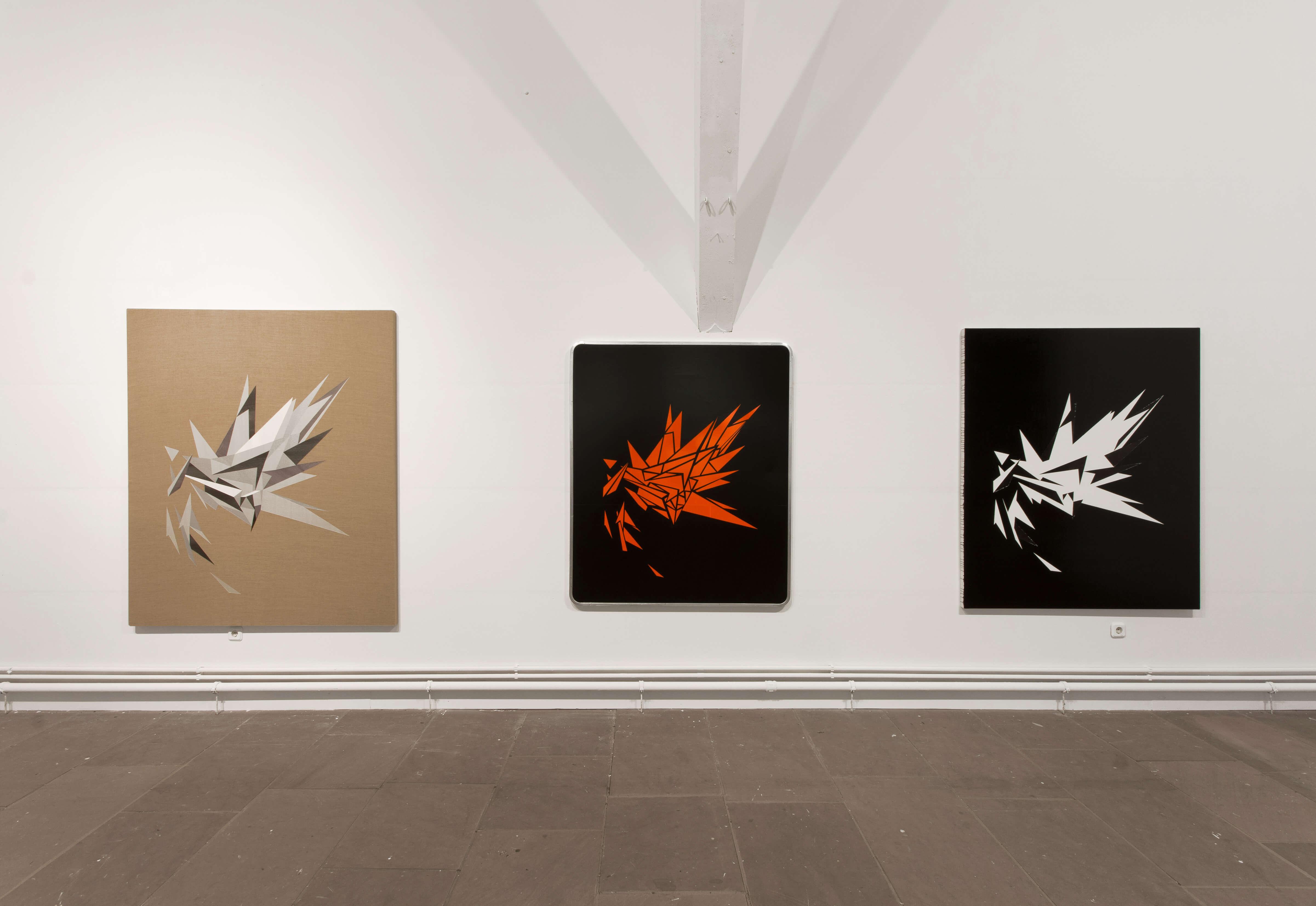 Lars Breuer Esplosiones 2015 Addaux Artist Bielefeld Berlin Düsseldorf Grafik Schrift Galerie